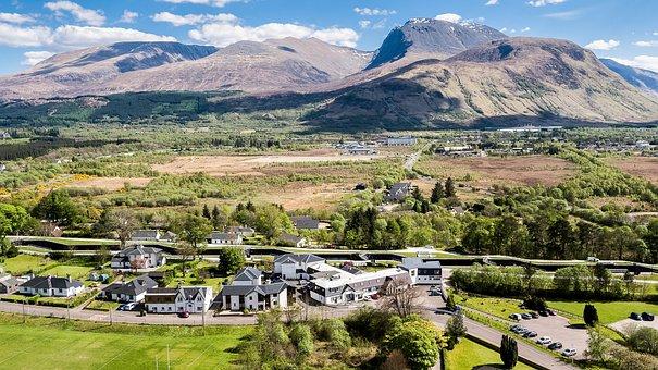 Ben Nevis, Drone, Aerial, Scotland, Countryside