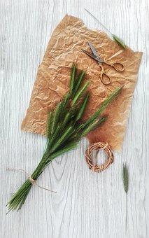 Bouquet, Spikes, Village, Floristry, Ikebana, Hobby