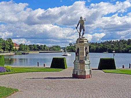 Stockholm, Drottningholm, Royal Castle, Front Page