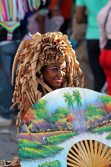Woman, Carnival, Masquerade, Holiday, Costume, Fun