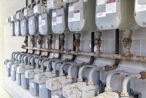 Industrial, Equipment, Industry, Gas Meter