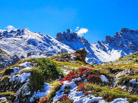 Mountain, South Tyrol, Schlern, Ross Teeth, Hiking