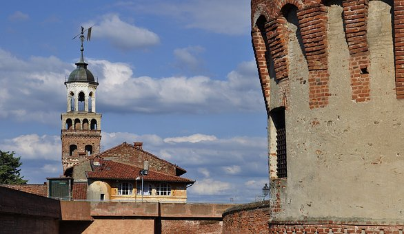 Castle, Torre, Ancient, Medieval Castle, Walls, Sky