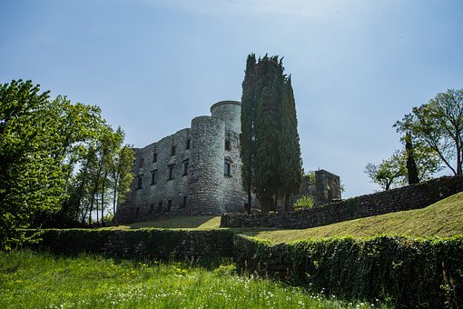 Castle, Stronghold, Nature, Middle Ages, Torre, Italy