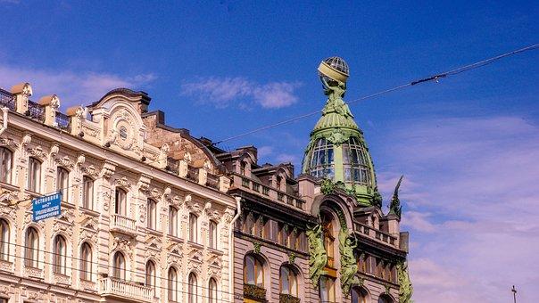 St Petersburg, Building, Architecture, Modern Building