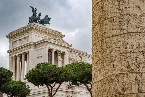Capitol, Trajan, Rome, Roman, Monument, Column