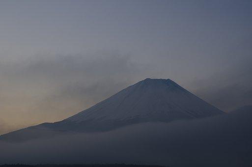Mt Fuji, Early Morning, Mountain Climbing, Japan