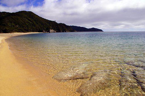 Abel Tasman, National Park, New Zealand, Abel, Beach