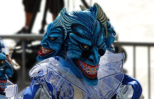 Mask, Horror, Scary, Masquerade, Carnival, Holiday, Fun