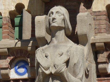 Sculpture, Sagrada Familia, Gaudí, Architecture