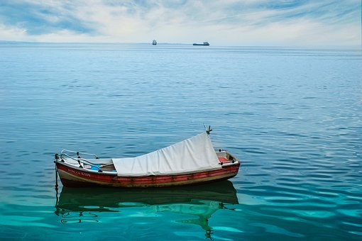 Boat, Sea, Ship, Water, Blue, Holidays, View, Tourism