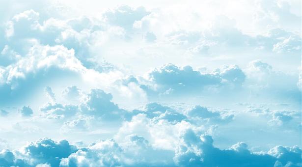 Clouds, Sky, Cartoon, Vector Images, Sun, Background