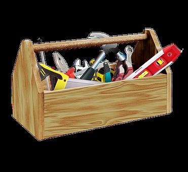 Tools, Toolbox, Construction, Builder, Handyman