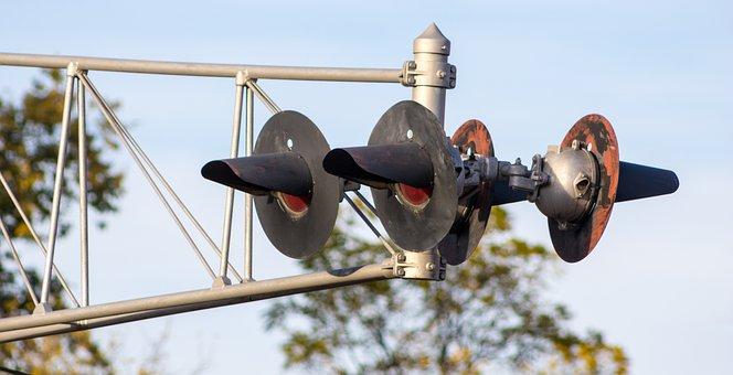 Railroad Light, Traffic Signal, Signal, Light