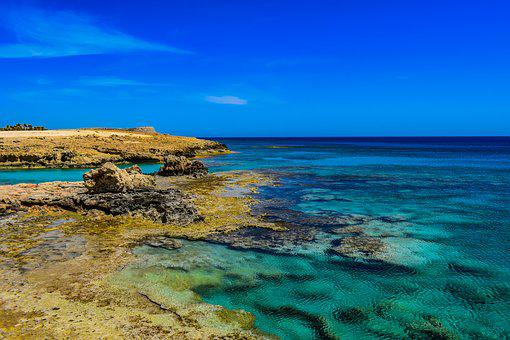 Rocky Coast, Sea, Water, Transparent, Clear, Turquoise