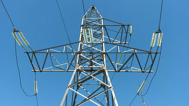 Electricity, Energy, Wire, Transmission Towers