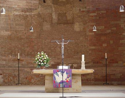 Trier, Basilica, Altar, Purist, Minimalist, Simply