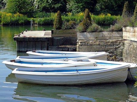 Boat, River, Thames, Dock, Jetty, Water, Vessel