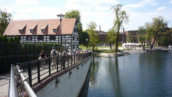 Bydgoszcz, Poland, Brda, River, Landscape, Tourism