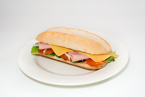 Pepito, Sandwich, Bread With Cheese, Ham, Food, Tasty