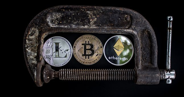 Cryptocurrency, Security, C Clamp, Business, Currency