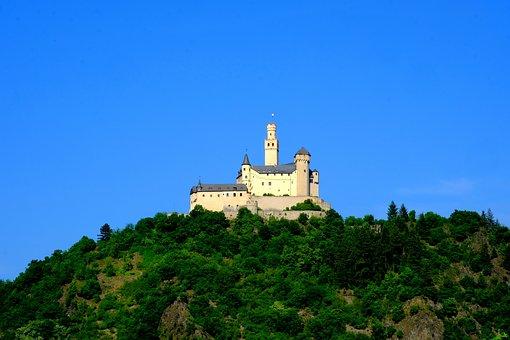 Mark Castle, Castle, Rhine, History, Knight's Castle