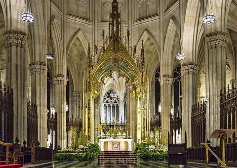 St Patrick's Cathedral, Cathedral, Church, Architecture