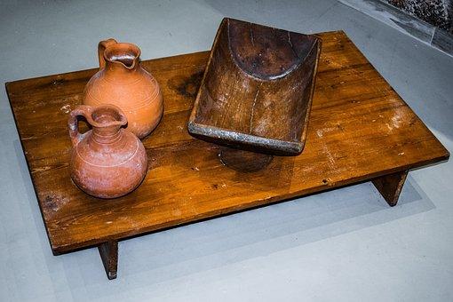 Cyprus, Frenaros, Hadjigiorkis Flour Mill Museum, Tools