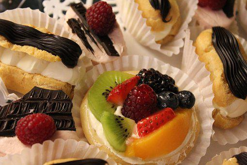Pastry, French, Dessert, Sweet, Cake, Delicious