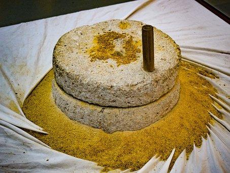 Cyprus, Frenaros, Hadjigiorkis Flour Mill Museum