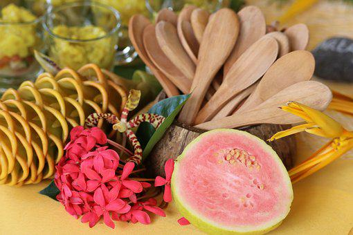 Tropical, Guava, Fruit, Flower, Tropical Flower, Exotic