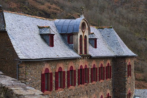 Medieval, Conques, Aveyron, Abbey, Heritage, Pilgrimage