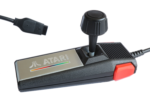 Atari, Joystick, Console, Video Game, Play, Controller