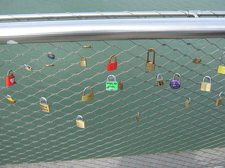 Love, Castle, Love Locks, Bridge, Padlocks, Friendship