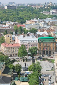 Liberty Avenue, Ukraine, Lviv, Old Town, City Centre