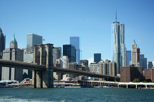 New York, Brooklyn, Bridge, Cityscape, Manhattan