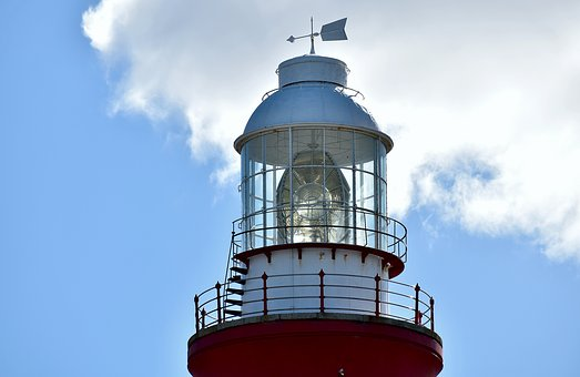 Lighthouse, Lamp, Navigation, Cape Agulhas, Maritime