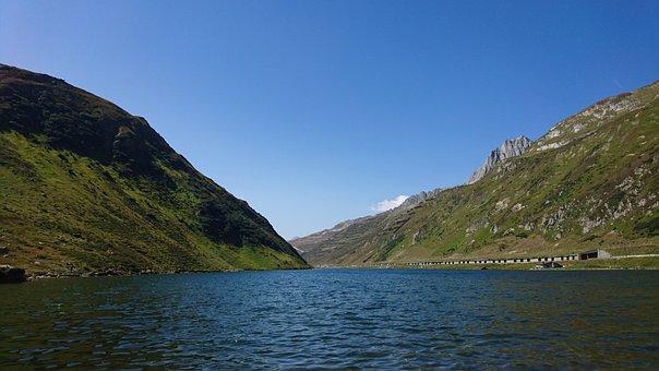 Lake, Mountains, Mountain Lake, Nature, Landscape