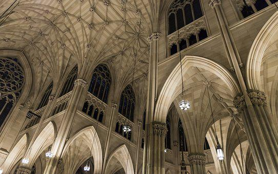 St Patrick's Cathedral, New York, Cathedral, Church