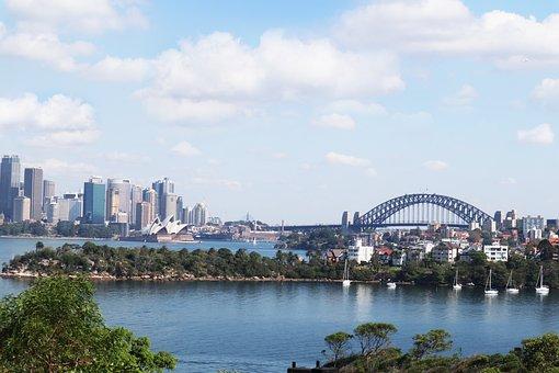 Australia, Sydney, Harbour Bridge, Opera House, Times