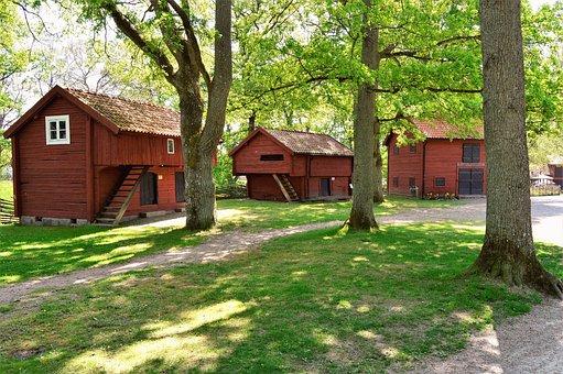 Apladalen, Värnamo, Sweden, Outdoor, Forest, Scenic