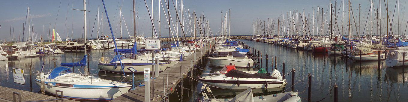 Panorama, Port, Yacht, Marina, Boot, Ship