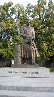 Warszaw, Poland, Pilsudski, Monument, Tourism, Marshal