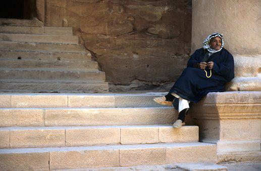 Travel, Portrait, Old City, Petra, Jordania