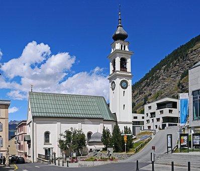 Switzerland, Pontresina, Engadin, Rhätikon, Graubünden