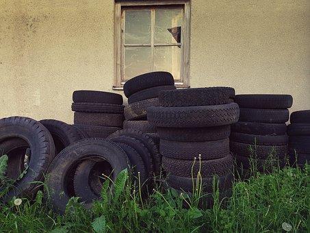 Altreifen, Auto Tires, Disposal, Rubber, Environment
