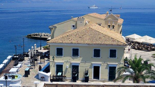 View, Sea, Building, Ship, Architecture, Hotel, Palma