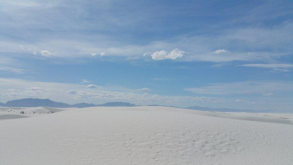 New Mexico, Desert, Sky, Landscape, Nature, Scenic