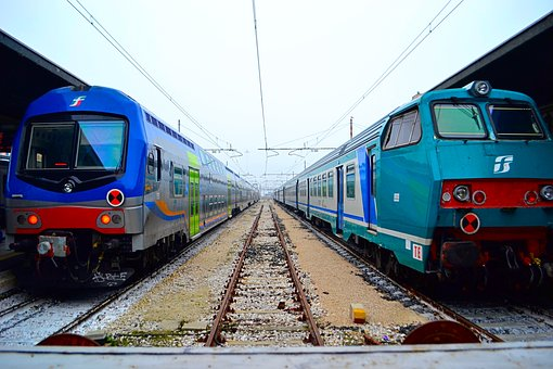 Train, Italia, Venice, Old Train, Station, Italy