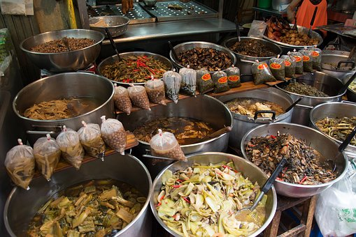 Food, Thai Food, Vegetable, Various, Asian, Thai